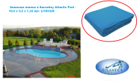 Запасная пленка к бассейну Atlantic Pool - 10,0 х 5,5 х 1,32 арт. LI183320