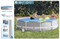 Бассейн каркасный 305х76см, Prism Frame Pool intex 26700